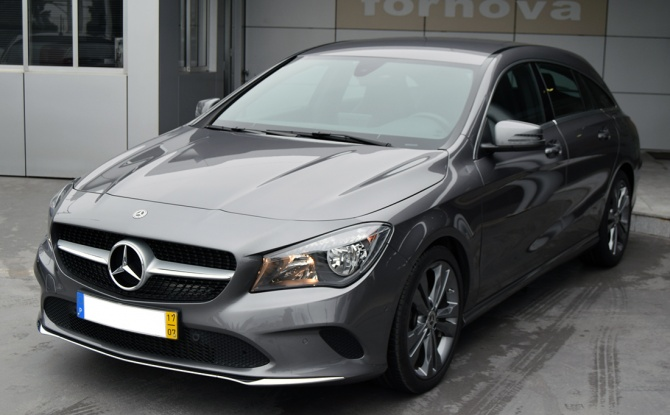 Mercedes-Benz CLA 180 D SHOOTING BRAKE URBAN