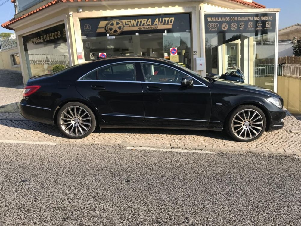 Mercedes-benz Cls 250 CDI BlueEfficiency Auto(204cv.4p)