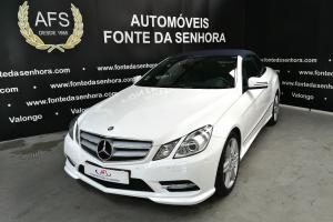 Mercedes-Benz E 250 CDI BE AMG AUT. Cabrio (NACIONAL)