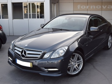 Mercedes-Benz E 250 CDI COUPE BLUE EFFICIENCY