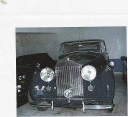 Rolls Royce Silver Shadow Wraith