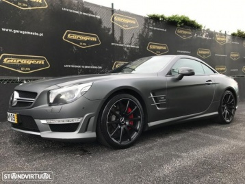 Mercedes-benz Sl 63 amg Performance Package 564cv