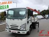 Isuzu NKR N35.120 // TRI-BASCULANTE + PALFINGER PK 2900