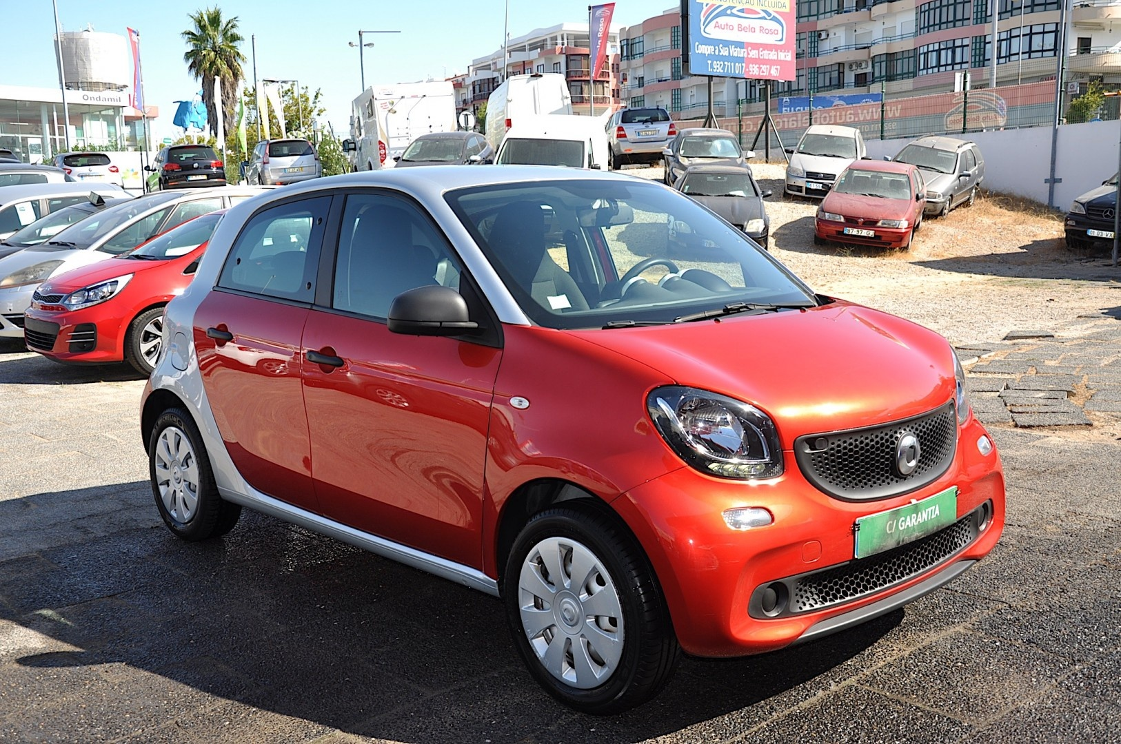 Smart ForFour 1.0 mhd 71 Pure
