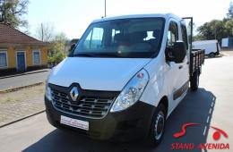 Renault Master 2.3 DCi CAB/DUPLA // 2015 // 7 LUGARES