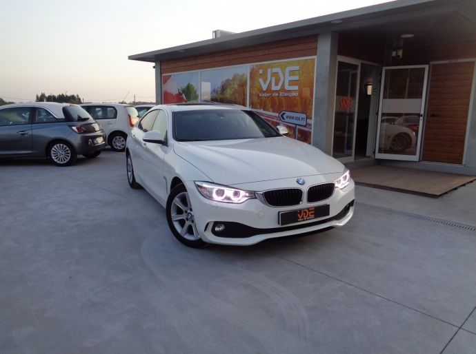 BMW 420 Grand Coupé 190cv cx Automática
