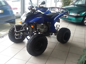 Shenke MOTO 4   250 CC  COM marcha trás