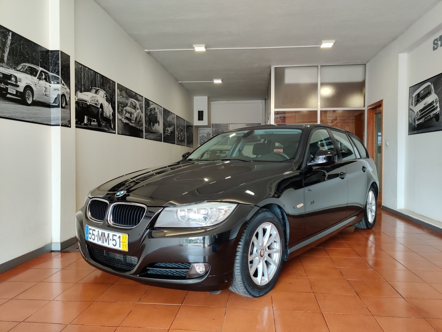 BMW 320 d Touring Navigation