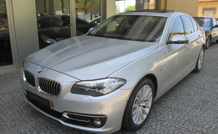 BMW 525, 2015
