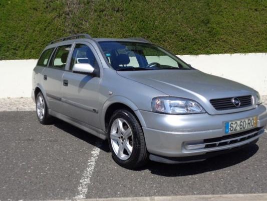 Opel Astra caravan, 2001