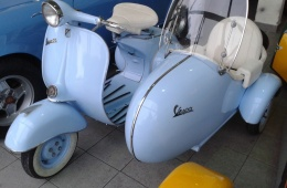 VESPA 150 side car