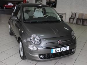 Fiat 500 teto vidro