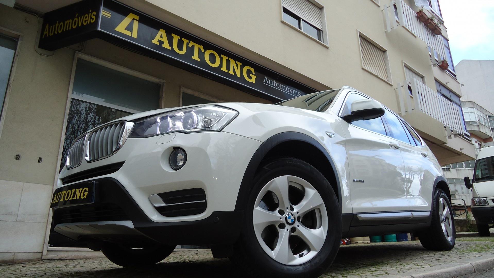 BMW X3 SDRIVE 18D XLINE GPS