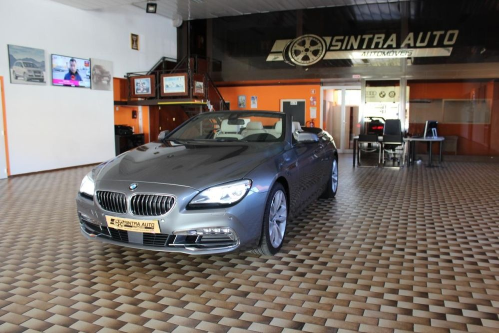 BMW 640 D Cabrio Auto