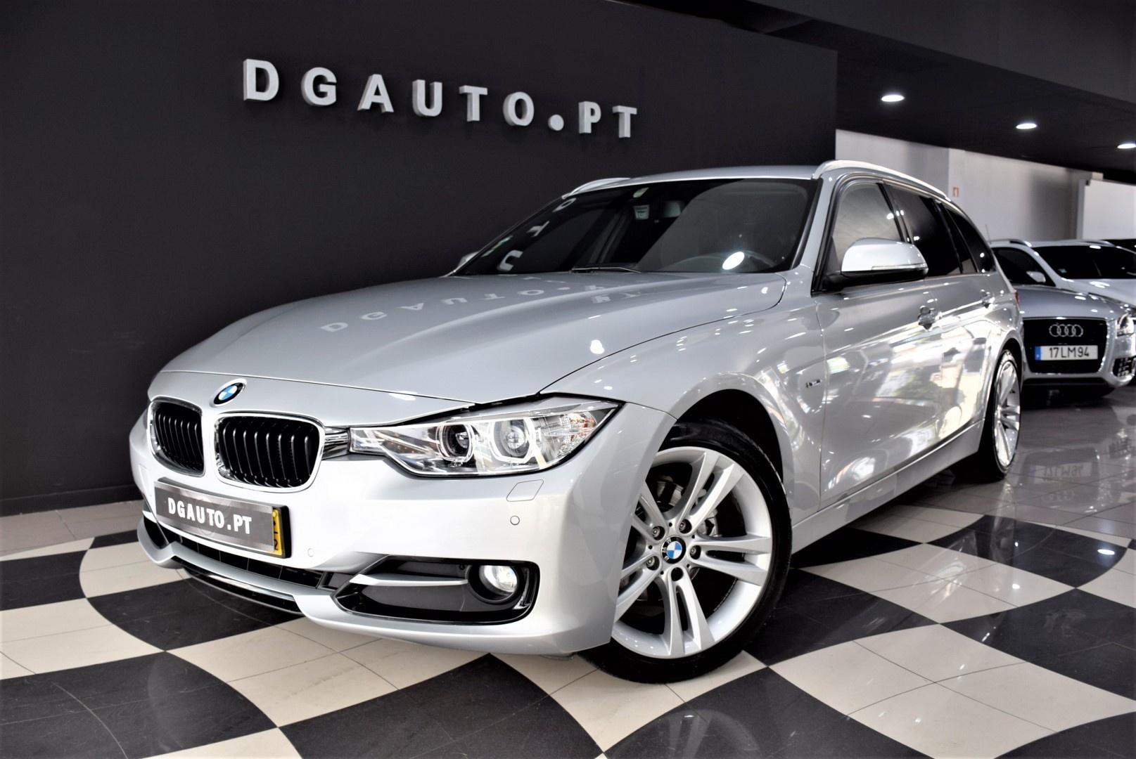 BMW 318 D Touring Sport 2014