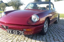 Alfa Romeo Spider, 1991