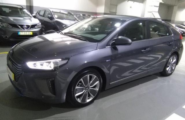 Hyundai Ioniq GDi 6DCT Hybrid Tech + Pack Pele