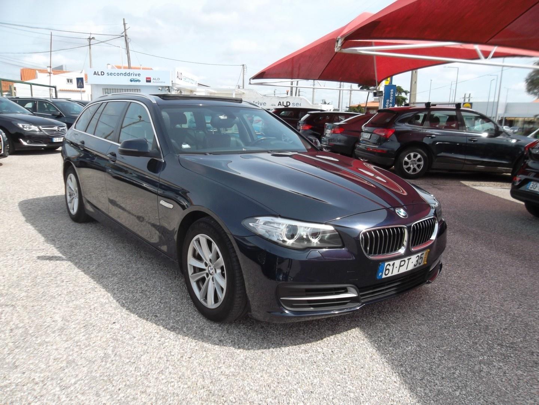 BMW 520 D TOURING AUTO GPS/XENON/DVD/TECTO