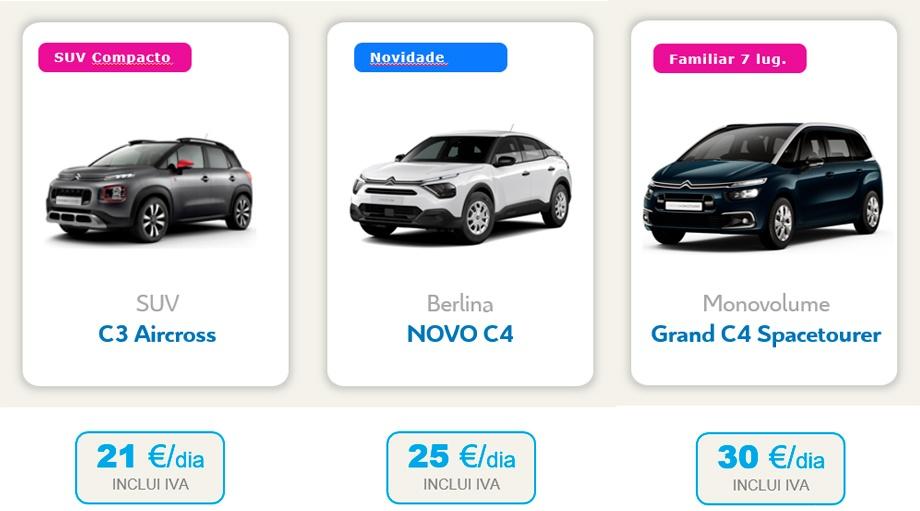 FREE2MOVE - Aluguer de veículos