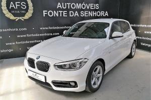 BMW 116 d Line SPORT GPS+FULL LED (AUTOMÁTICO)