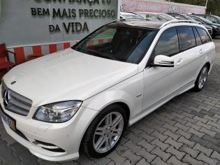 Mercedes-Benz C 220 AMG branca
