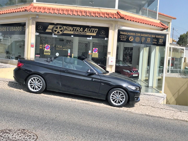 BMW Série 2 218 d Cabrio