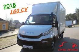 Iveco Daily 35-160 CONTENTOR + PLATAFORMA // 38.000 KM
