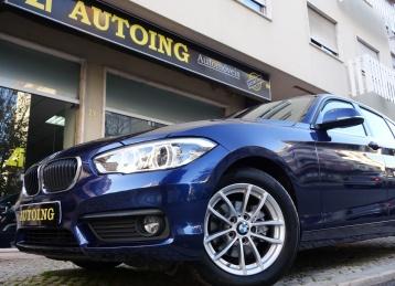 BMW 116 D FAROIS LED + GPS PROFISSIONAL