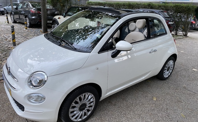 Fiat 500C 1.2 69 Lounge