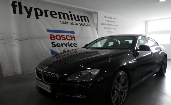 BMW 640 Grand Coupé, 2013