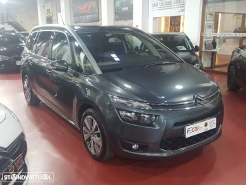 Citroën C4 grand picasso 1.6HDI EXCLUSIVE TETO PANORAMICO DVDS FULL EXTRAS