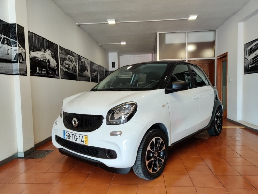 Smart ForFour, 2017