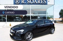 Mercedes-Benz A 180 D AMG (LED) (Camera) (Grelha Diamante) (JLL Multi-Raios)