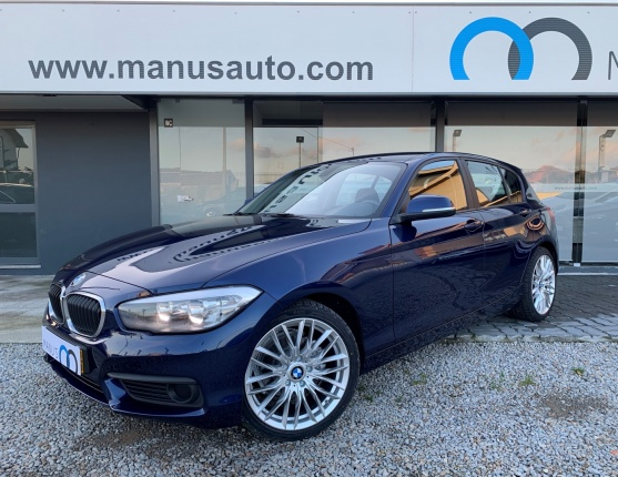 BMW 116, 2015