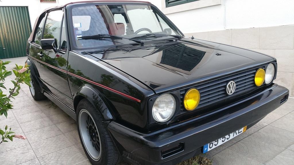 Vw Golf Cabriolet 1.8GLI