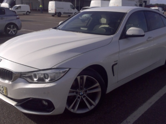 BMW 420 Grand Coupé, 2015