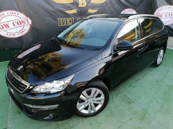 Peugeot 308 SW DVD CABECEIRAS FULL PELE1.6BlueHdi Full Extras