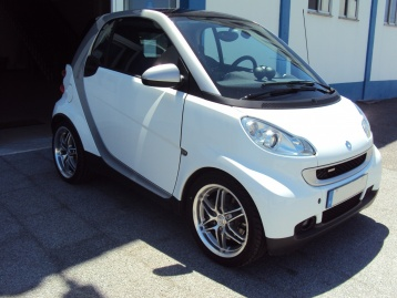 Smart ForTwo coupé brabus 1.0