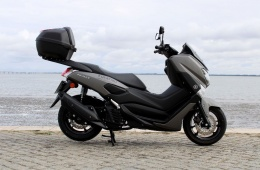 Yamaha Nmax 125 ABS Mate Grey