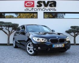 BMW 116 d Line Sport Cx. Automática
