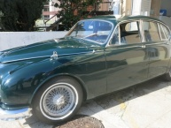 Jaguar MK II 3.8 manual overdrive