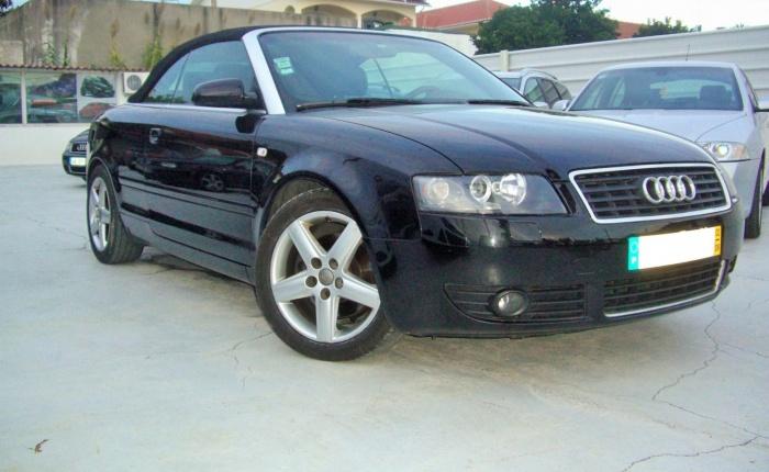 Audi A4 cabrio, 2002