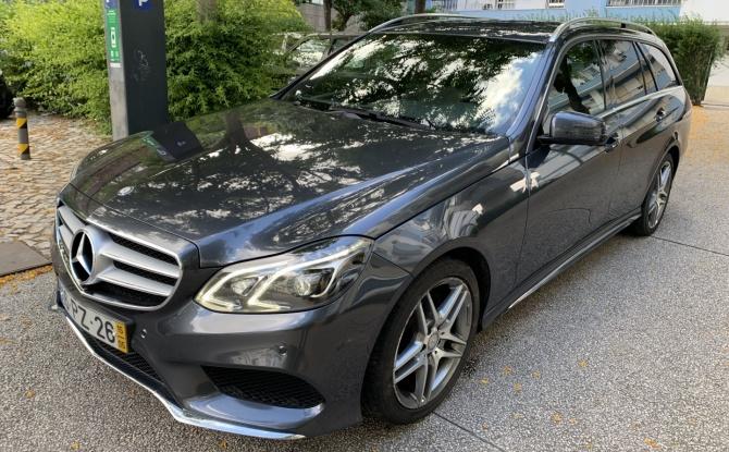 Mercedes-Benz E 300 Station Hybrid AMG aut