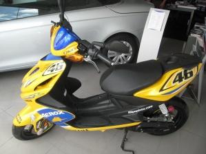 Yamaha Aerox 50 GP