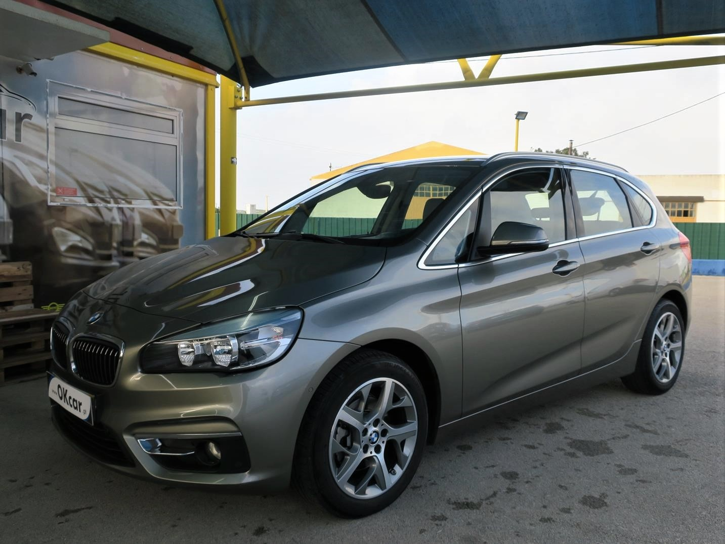 BMW 216 Active Tourer d Line Luxury GPS Pele